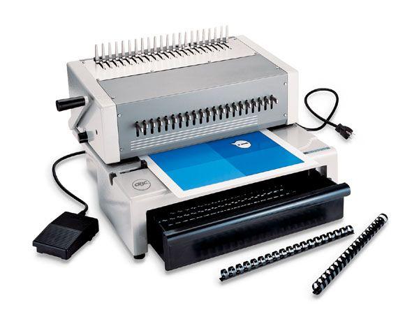 Plastic Comb Binding Machine Plastic Comb Binding Adamsbiz Com Binding Machines Comb Plastic