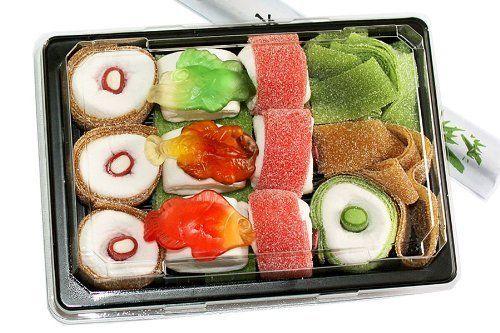 sweet sushi die besonders s e berraschung die ausgefallene und besonders s e geschenk f r. Black Bedroom Furniture Sets. Home Design Ideas