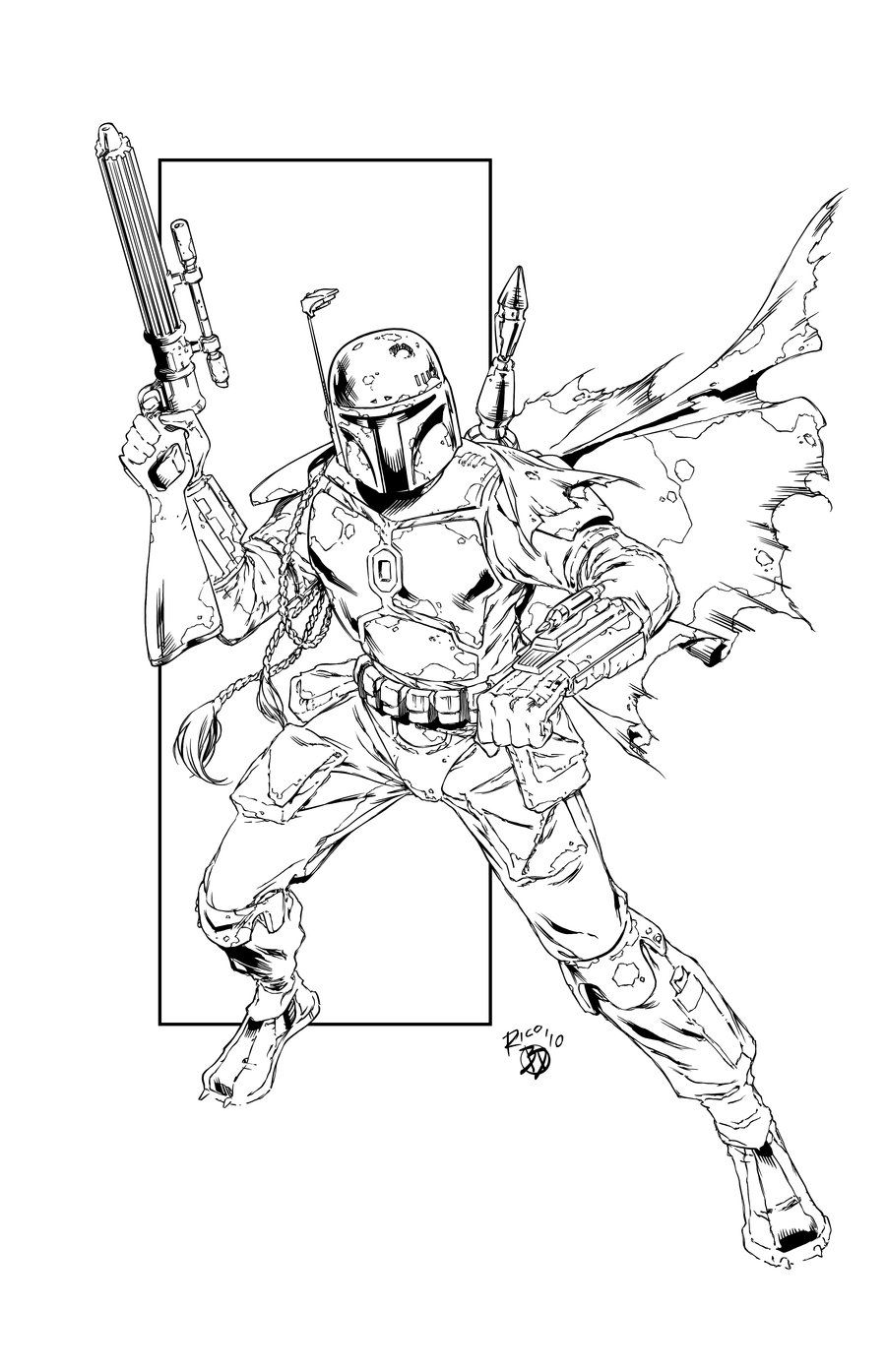 Boba Fett By Bdstevens On Deviantart Star Wars Jango Fett Star