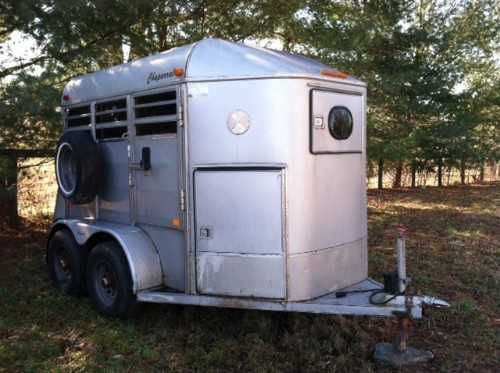 2 horse chaparral bumper pull horse trailer for sale trailer is on Fox Trailer Wiring Diagram for trailer is in great shape had underside sanded, treated, primered and then painted to ensure no rust great pulling trailer tires good, lights at Horse Trailer Electric Brake Wiring