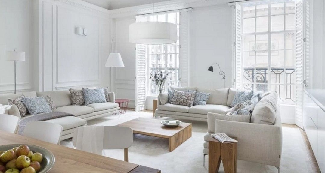 6 Modern Living Room Design Ideas With Cold And Clean ...