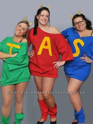 15 Fun and Unique DIY Halloween Group Costume Ideas | Gurl.com  sc 1 st  Pinterest & 15 Fun and Unique DIY Halloween Group Costume Ideas For You and Your ...