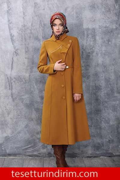 Is Bilir 2015 Kislik Pardesu Kap Modelleri Fashion Turkish Fashion Modern Hijab Fashion