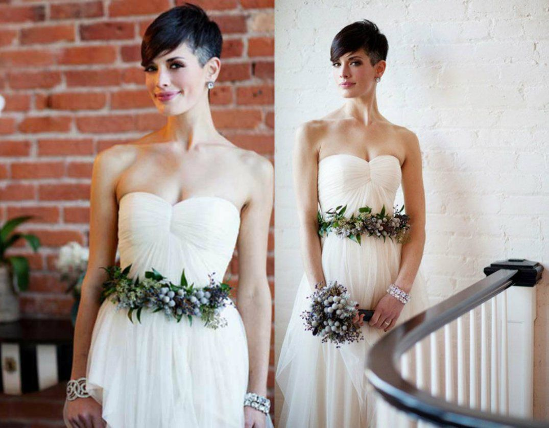 Short Pixie Wedding Hairstyles Short Pixie 2018 Short Wedding