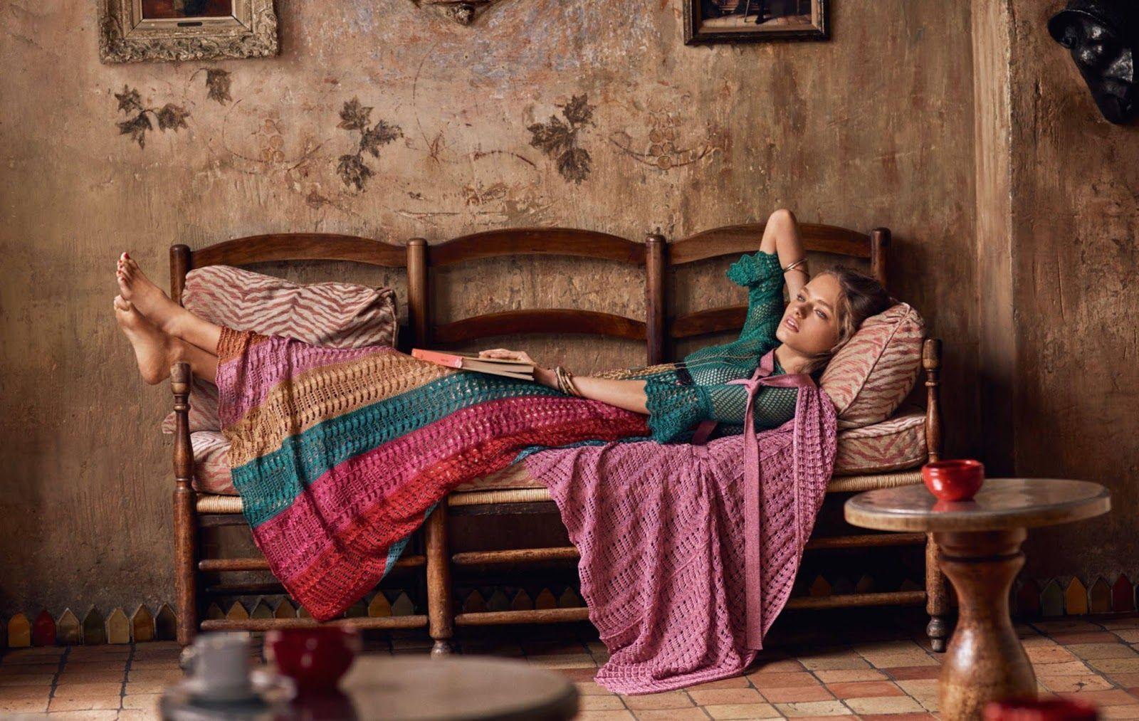 Anna Mila Guyenz for Vogue Paris