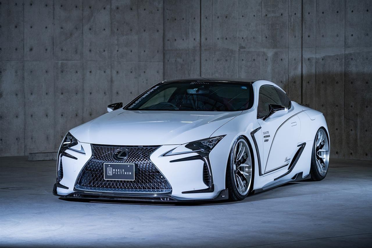 Lexus Lc 500 Body Kit From Japanese Tuner Rowen Lexus Enthusiast In 2020