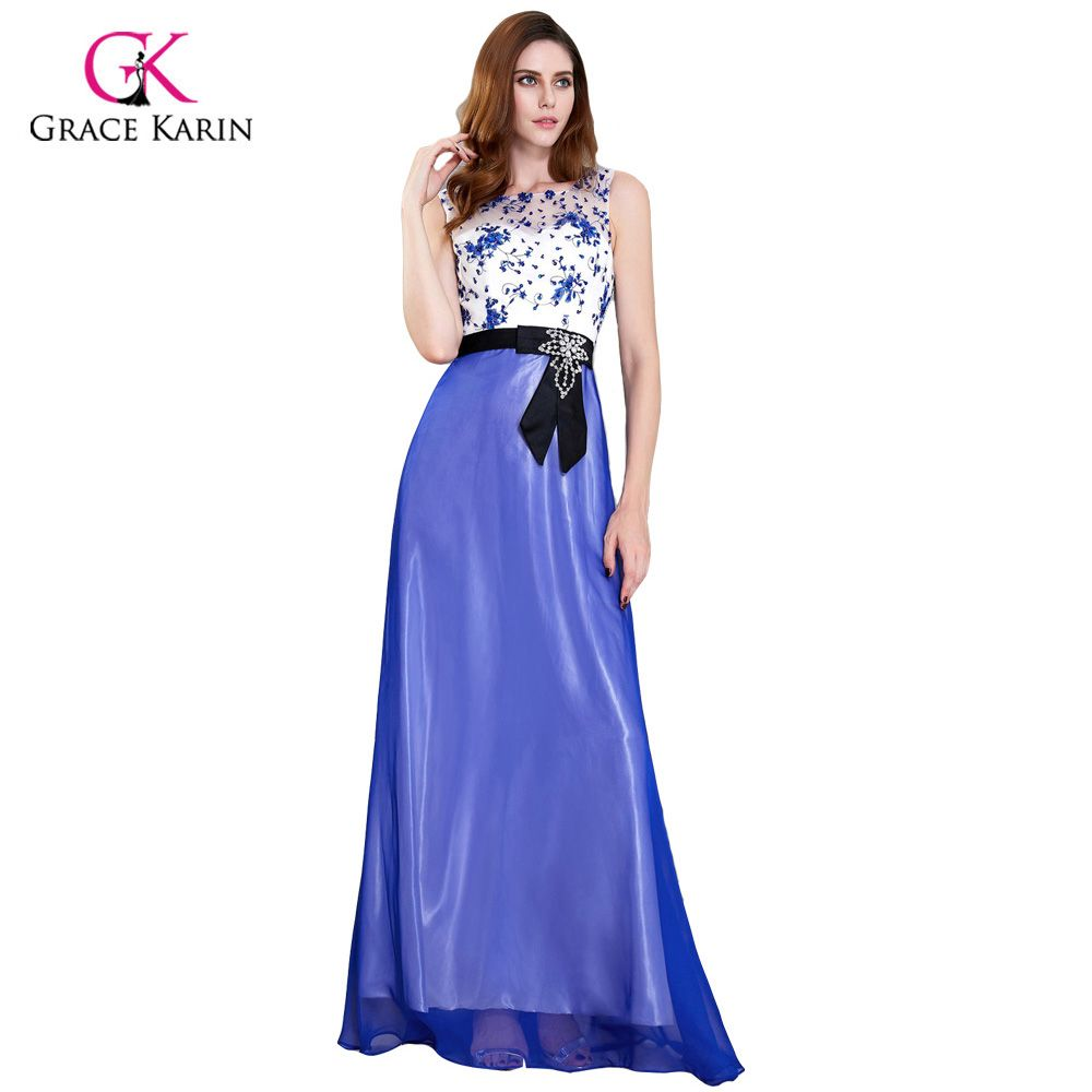 Summer dresses to wear to a wedding  Free Shipping Buy Best Grace Karin Long Mother Of The Bride Dresses