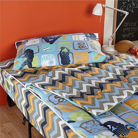 Shop Zipit Bedding Reversible Zip Up Bedding Read Customer