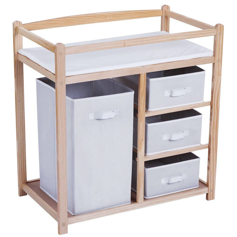 Super Baby Changing Table With Drawers Unit Station Nursery Download Free Architecture Designs Remcamadebymaigaardcom