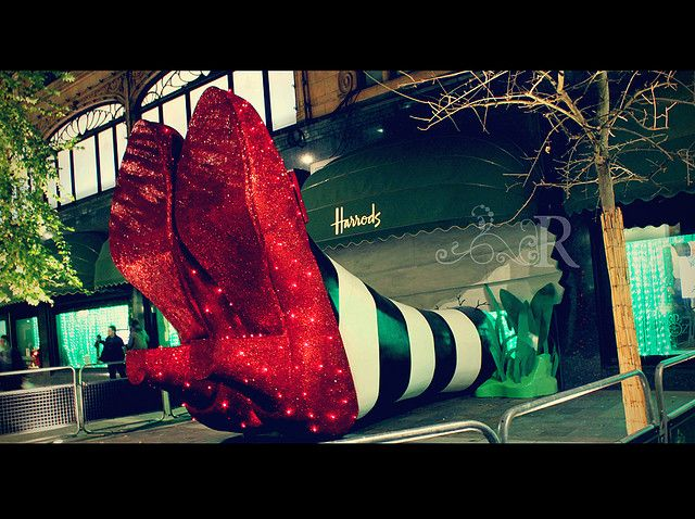 #Harrods.  The Wicked Witch of the West. http://bigstuffdesign.com/