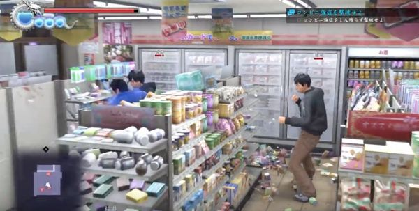 Yakuza 6 Allows You To Smash Up A Convenience Store Real Good