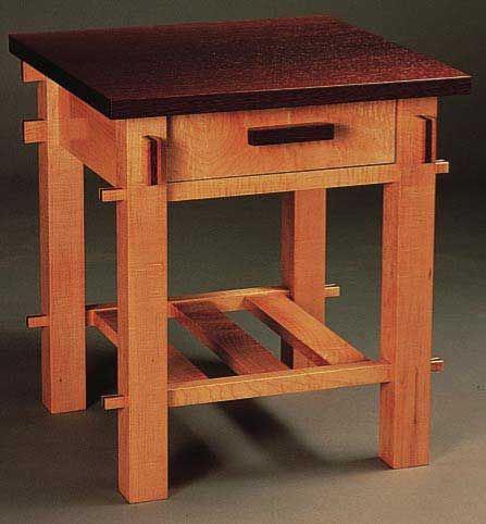 Craftsman End Table Plan Woodworkersjournal Com How To Build