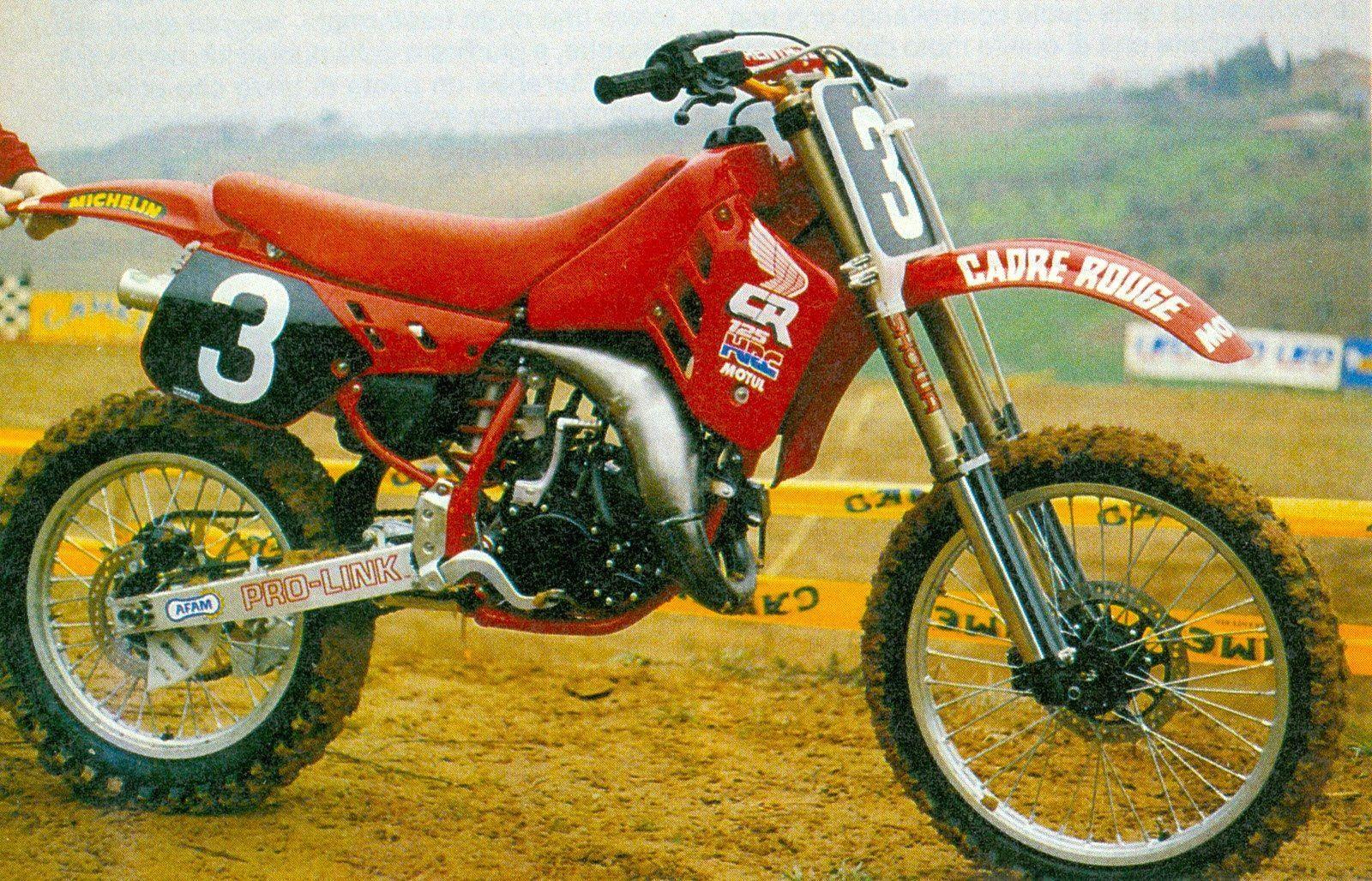 JMBayle's 1988 works Honda CR125 | Vintage motocross ...