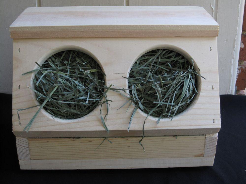 Rabbit Hay Box Free Chew Toss Toy Included 40 00 Via