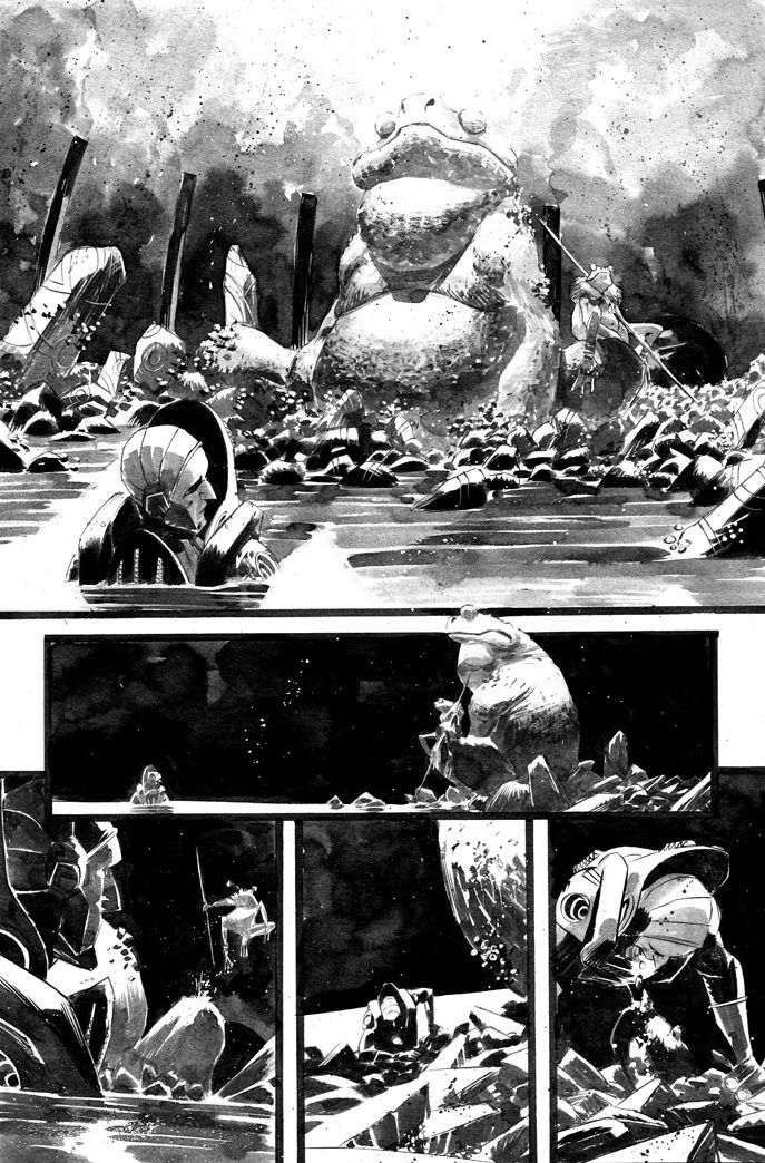 BLACK SCIENCE #1 - page12 - INKS by MatteoScalera