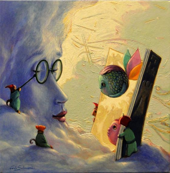 Carlo Salomoni - Paintings for Sale
