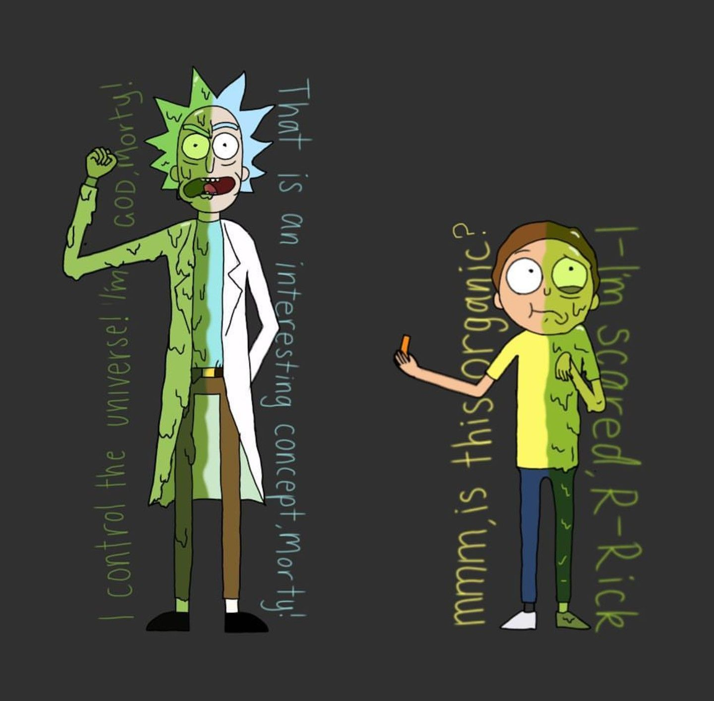 Toxic Rick And Morty Rick Morty Rick I Morty Coloring Books