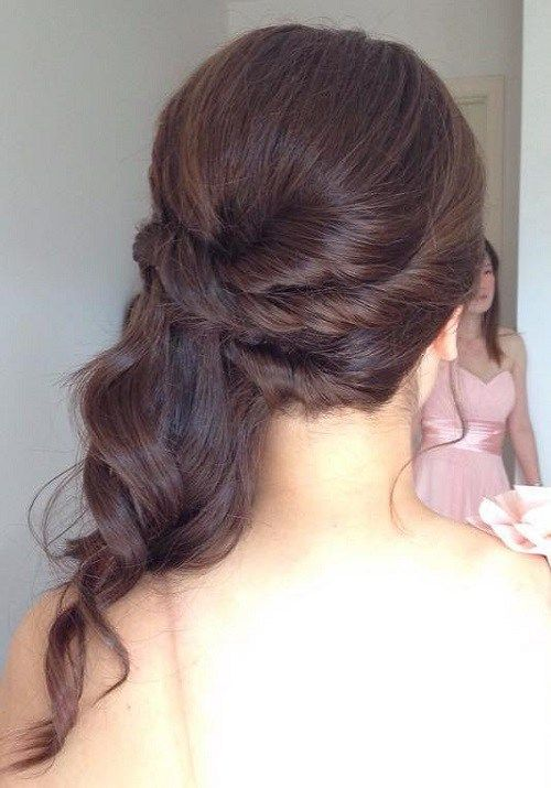 Half Up Half Down Wedding Hairstyles   50 Stylish Ideas for Brides is part of Half Up Half Down Wedding Hairstyles  Stylish Ideas For - 33 French Braided Halfdo What an intricately gorgeous hairstyle for weddings! The braids start at the crown, end at the back of the head and fall into a delicate cascade of curls and waves  This style is stunning both coming and going and ranks among the most detailed half up wedding hairstyles on our list  …