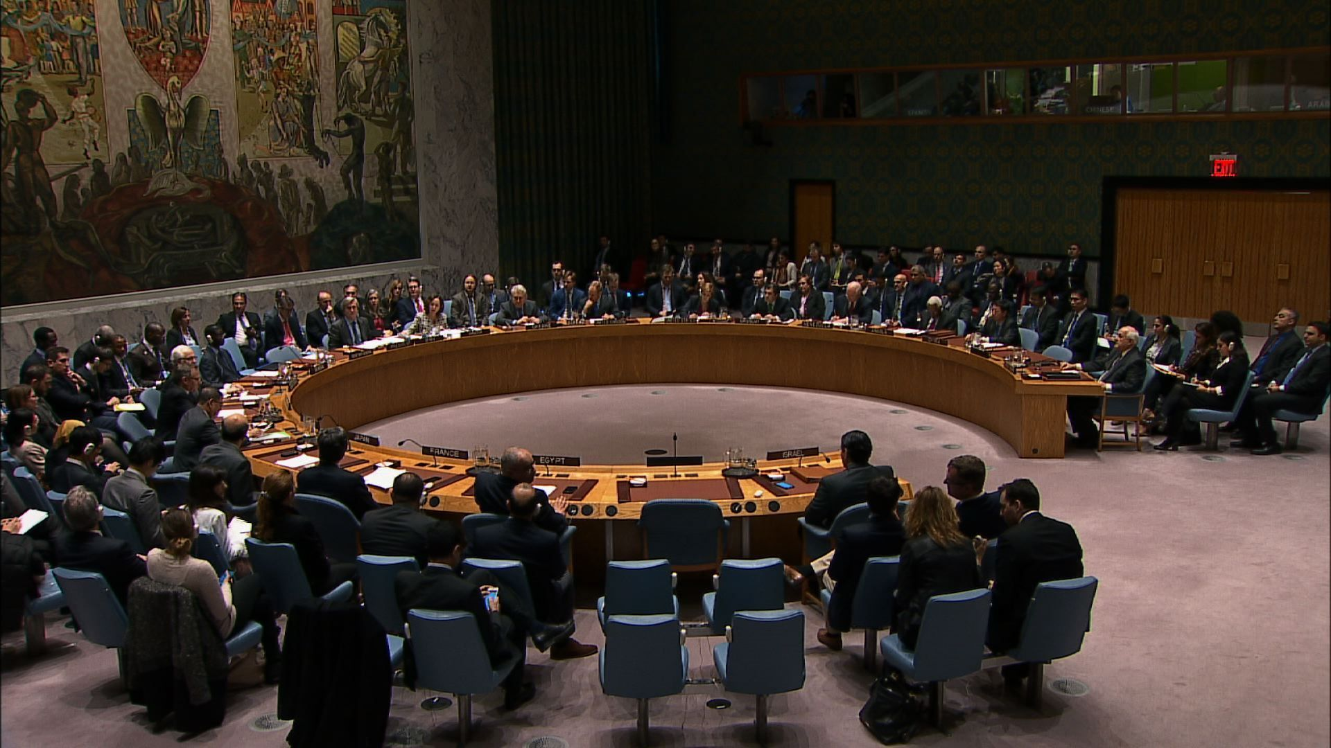 Vote on israel could spur further action or trouble for un united nations ap the us green light that allowed the un security council aloadofball Choice Image