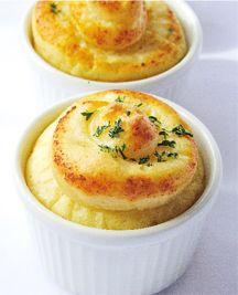 Baked mashed potatoes.