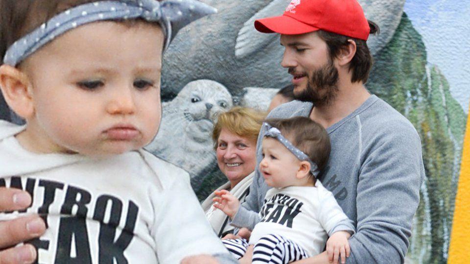Aww Dorable See Photos Of Mila Kunis And Ashton Kutcher S Baby