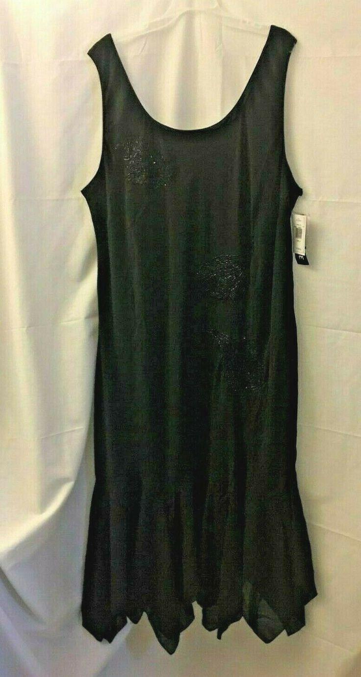 Schwarzes Chiffon-Kleid plus Größe 24 | Chiffon kleid ...