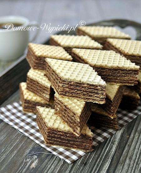 Waffle Wafer Cookies Wafle czekoladowe | Ea...