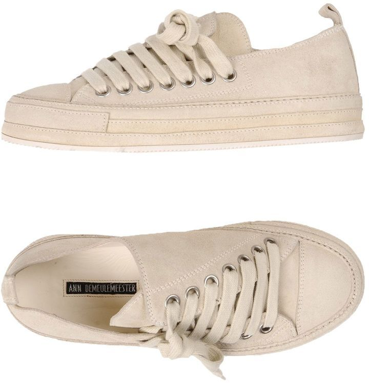 Ann Demeulemeester Sneakers   Ann demeulemeester, Ann and Products 41445cc2e8c
