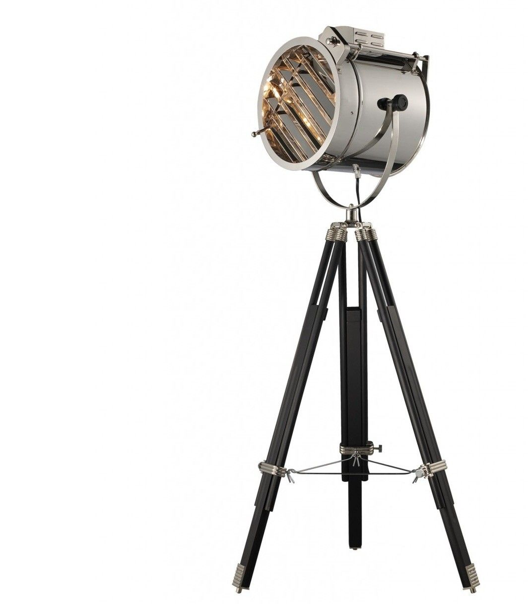 4039s studio floor lamp floor lamp adjustable legs and for Retro hollywood floor lamp