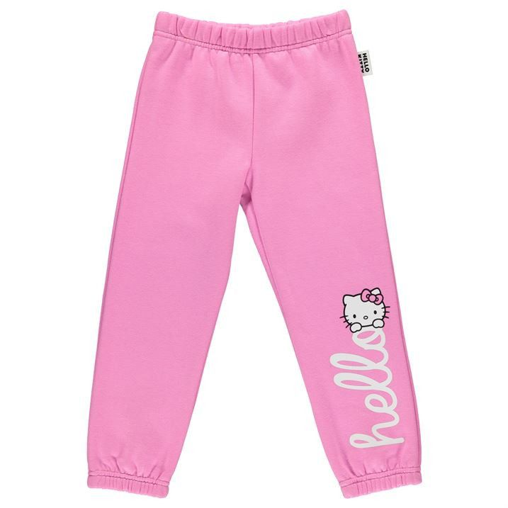 7749ac9b2 Girls Hello Kitty Tracksuit Bottoms Tracksuit Bottoms, Cute Cats, Hello  Kitty, Girl Outfits