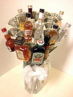21st Birthday Bouquet Gifts For Guys Diy