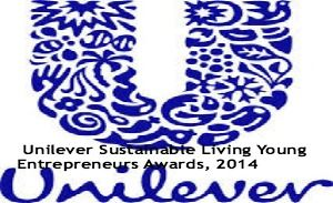 Unilever Sustainable Living Young Entrepreneurs Awards, 2014, and applications are submitted till 1st August 2014. - See more at: http://www.scholarshipsbar.com/unilever-sustainable-living-young-entrepreneurs-awards.html#sthash.yAzM7W5p.dpuf