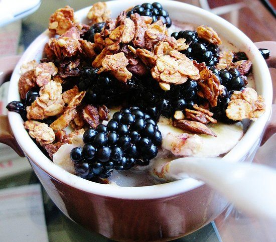 Almond and Flaxseed Granola