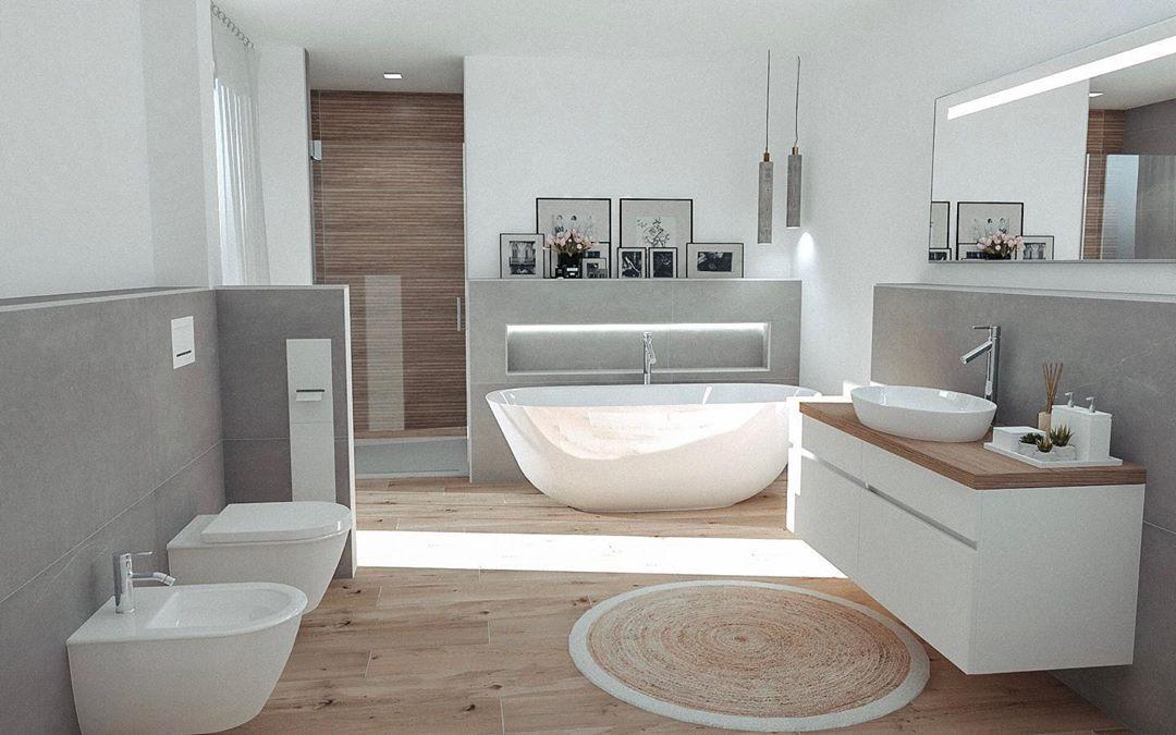 Nati Vita Shared A Photo On Instagram Werbung Verlinkung Unser Elternbadezimmer Da Ich Euc Badezimmer Neubau Badezimmereinrichtung Wohnung Badezimmer