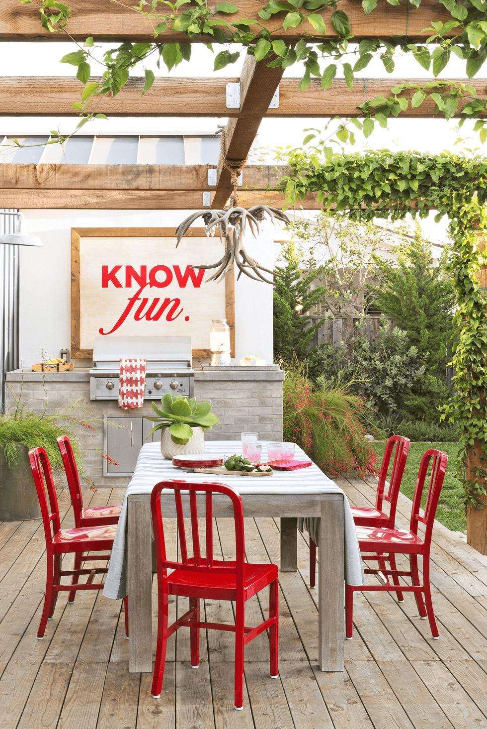 18 brillantes idées pour aménager ses extérieurs avec une cuisine