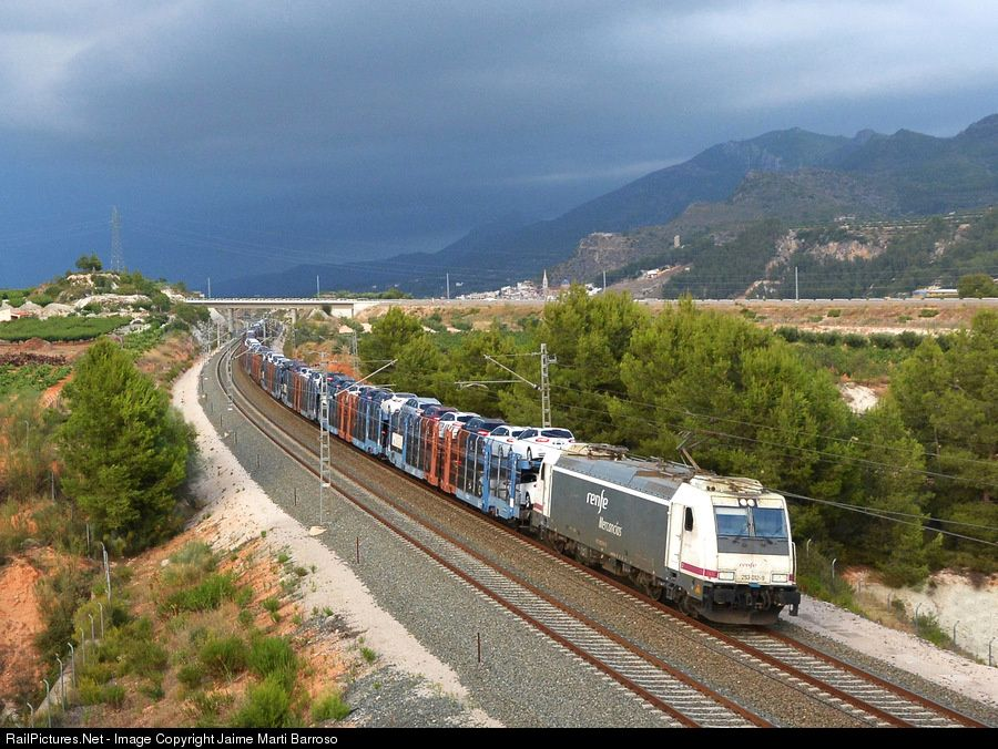 RailPictures.Net Photo: 253-012 Renfe 253 at Valencia, Spain by Jaime Marti Barroso