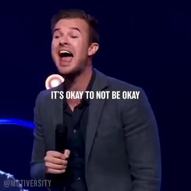 ITS OK TO NOT BE OK!!
