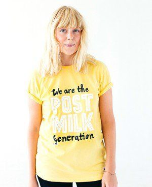 286c1920 Oatly T-shirt - We are the post milk generation | Oatly Apparel | T ...