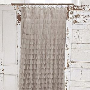 Image Result For Shabby Chic Shower Curtains