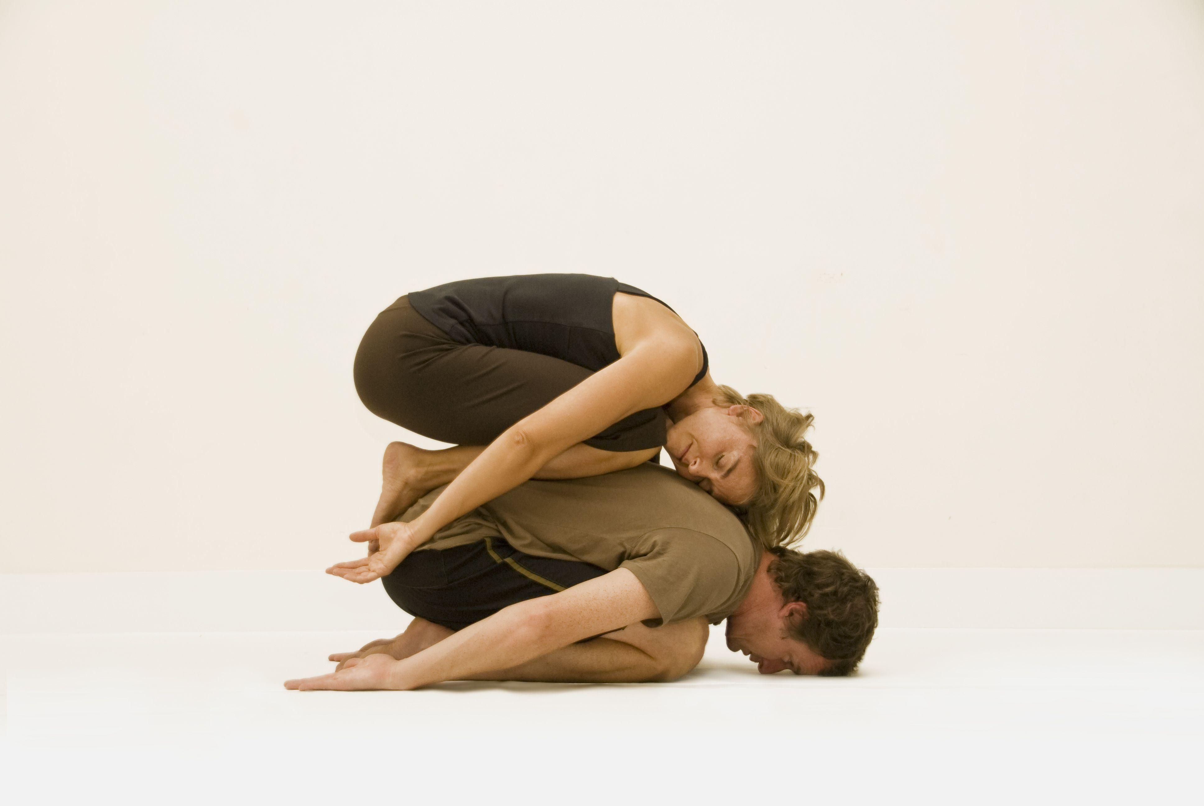 Partner Yoga Poses Images