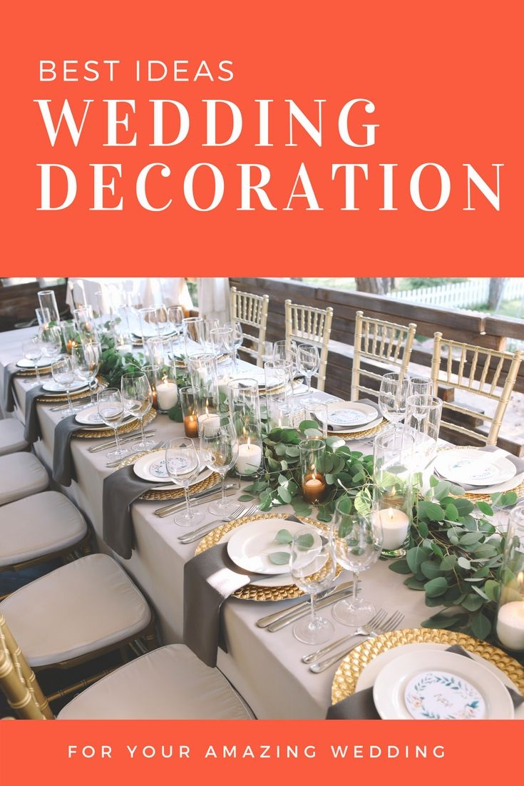 Wedding decorations for hall january 2019 Revamp Your Wedding Reception By Using These Latest Cheap Wedding