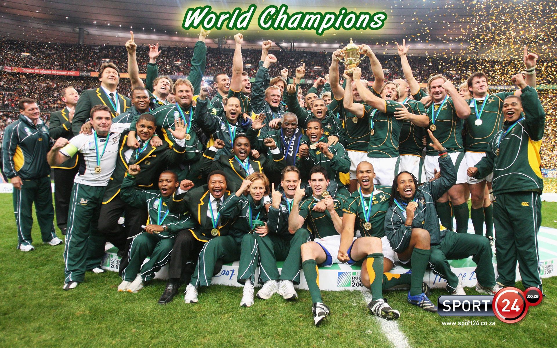 Rwc Champions Sport24 2015 Rugby World Cup Rugby World Cup Rugby