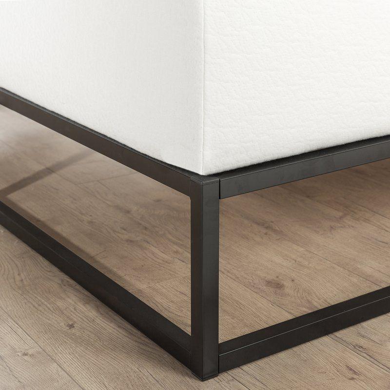 Cyril Platform Bed Steel Bed Frame Metal Platform Bed Platform