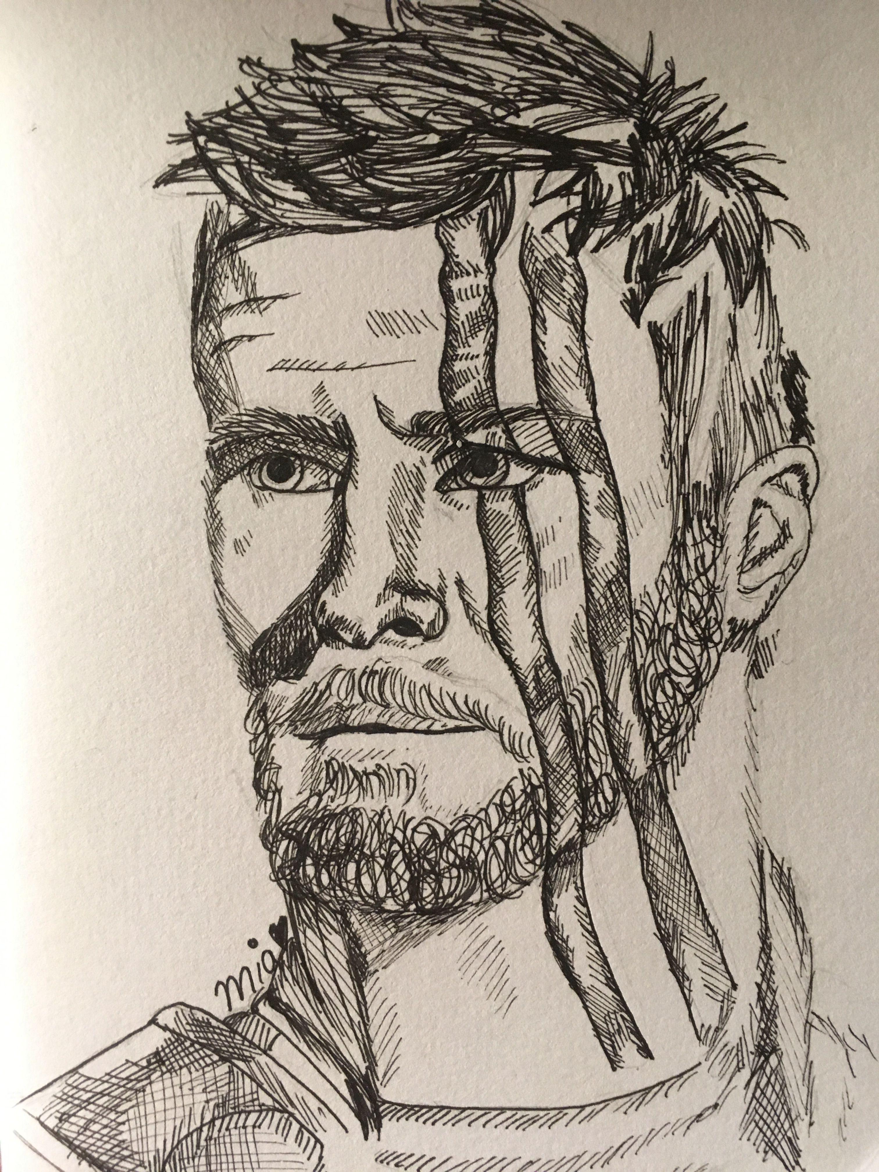 Thor Ragnarok Mcu Marvel Avenger Micron Pen Drawing Artwork Fanart Drawing Artwork Artwork Sketches