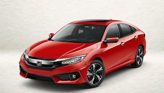 2016 Honda Civic 4 Door Front Under Body Spoiler
