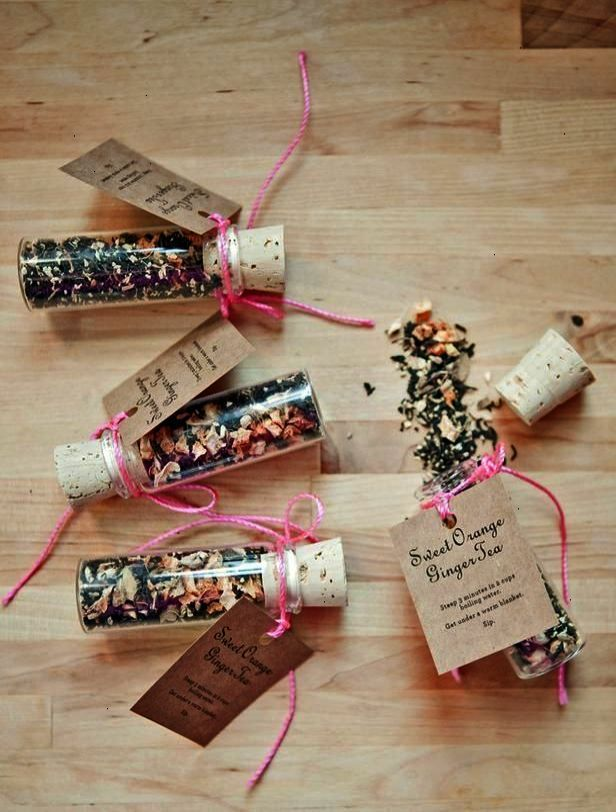 Tea Tube Favours Find More Wedding Favour Ideas Here Wedding