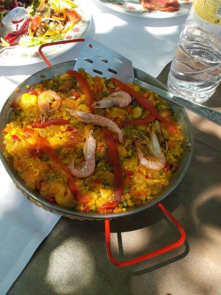Lunch at Fuente de la Teja