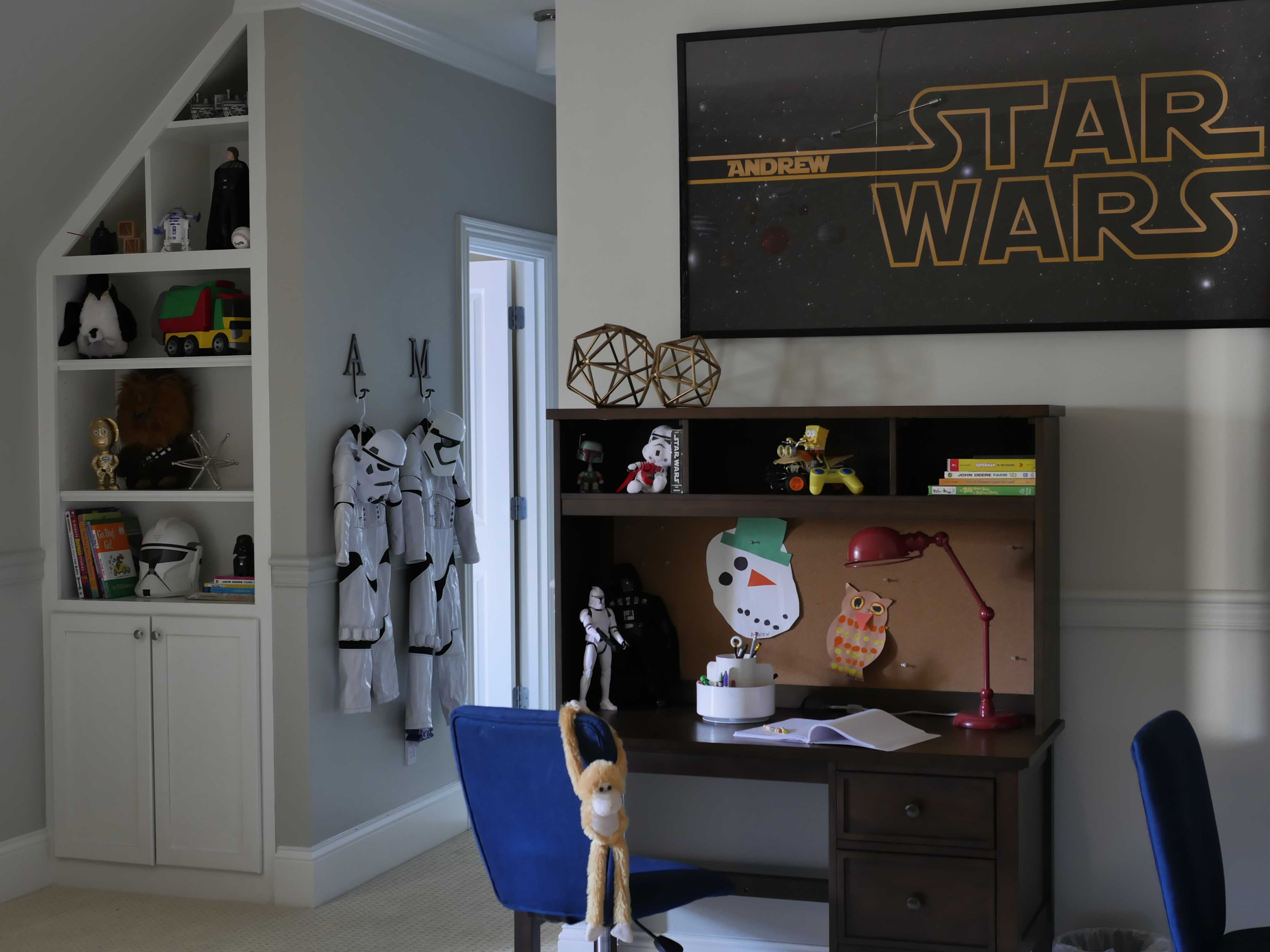 A New Star Wars Big Boy Bedroom For Our Twin