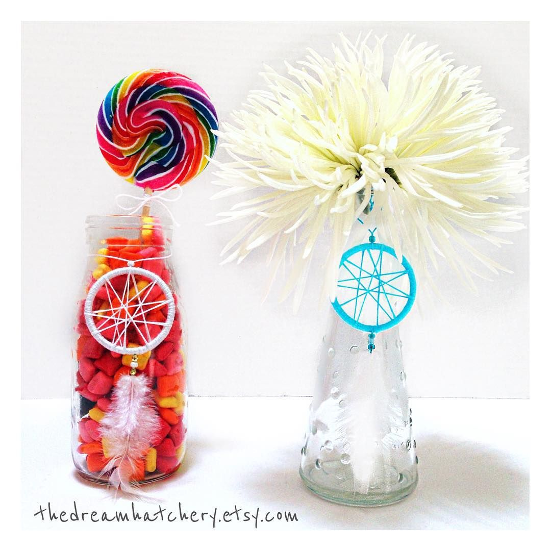 Mini 2 in Thread Geo Dreamcatcher Party Favors / Decor available in ...