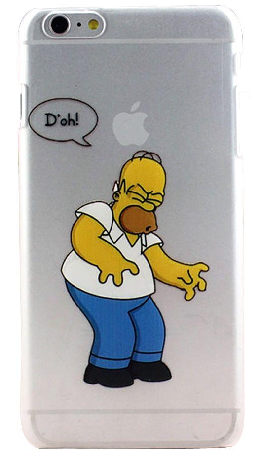 €6.95 Hard case iPhone The simpson M01 - Coque Homer simpson #case ...